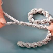 Как из ниток сделать жгут